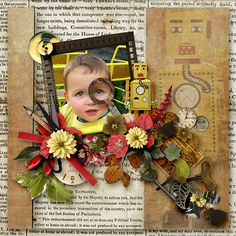 Robots by Sarkavka. Kit: Robots by Butterfly Dsigns http://scrapbird.com/designers-c-73/a-c-c-73_514/butterflydsign-c-73_514_568/robots-page-kit-p-17591.html