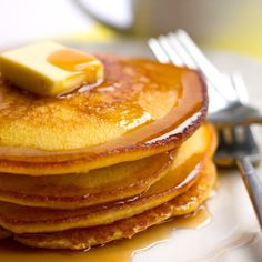 cornbread pancakes- crispy on the outside and light and fluffy on the inside.