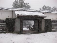 The Akaganemon gate of Odawara Castle