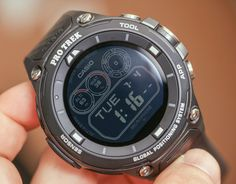 """Casio calls their second generation smartwatch the """"smart outdoor watch"""" – a fitting title for the Casio Pro Trek Smart WSD-F20. Read up on our Friday wrist time review."""