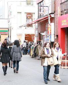 Harajuku is the area located east of Meiji-jingu shrine. Takeshita street in the town is popular because of many small pretty shops. http://www.travel-around-japan.com/k31-66-harajuku-omotesando.html