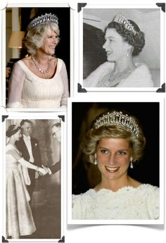 Cambridge lovers knot tiara worn by Camilla in the photograph was photo-shopped.