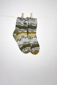 Wohlfühl-Socken Größe 26/27 von Knitti Wollsachen auf DaWanda.com
