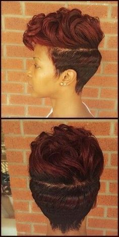 2015 Short Hair Trends & Haircuts for Black Women 4