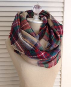 Look by M Plaid Infinity Scarf - Cost to Keep $34  Something you guys sent to another client that I quite like!