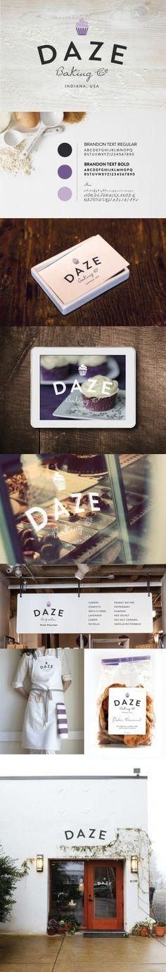 Daze Baking Company | Branding and Identity in My Work