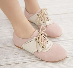 Omgsh I bought a pair of shoes that look like these in tan~