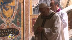 """""""@CatholicNewsSvc: The 265th successor of Peter, #PopeFrancis, praying at tomb of St. Peter."""" - twitter"""