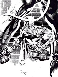 Batman vs Bane by ~TomRaney