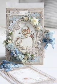 Cards by Camilla: DT Maja Design ~ A wedding card ♥
