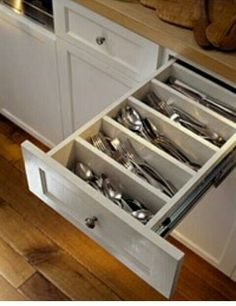 Silverware drawer.