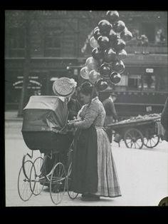 Une marchande de ballons : Les petits métiers de Paris dans lesannées1900 - Linternaute.com Actualité