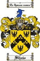 SHAW Clan Coat of Arms