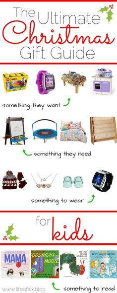 40 gift ideas for kids | Ultimate Christmas Gift Guide for Kids | Toddler, Preschool, School Aged Christmas Presents