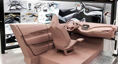 Clay model interiors