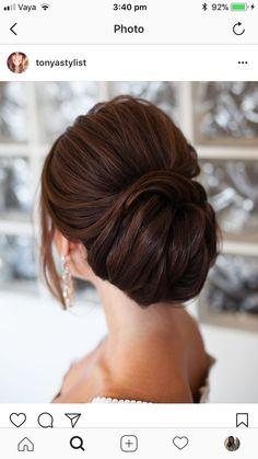 Fancy Hairstyles, Wedding Hairstyles, Wedding Updo, Updos, Hair Dos, Headbands, Makeup, Earrings, Hair Styles