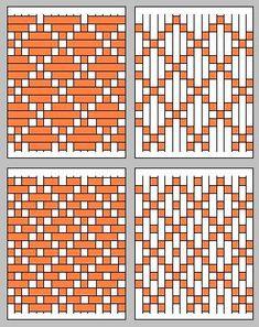 175f77a21 paper weaving patterns use stained glass colors Modelos De Tricô Com Tear