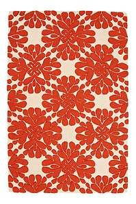 I'm gonna use this Anthropologie rug as inspiration to make my own stencil Ikea rug.