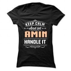 Cool 10 Keep Calm AMIN Shirts & Tees