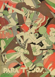 Para Todos, 13 Agosto 1927 Graphic Designer & Illustrator, known as J. Carlos, (July 18, 1884 - October 2, 1950) was a cartoonist, illustrator & graphic designer.