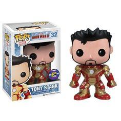Tony Stark Marvel Funko POP! Vinyl