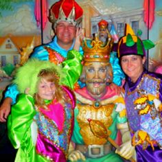 Mardi Gras World tour is a great family experience.