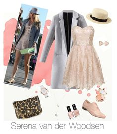 Inspired by Serena van der Woodsen by morgan-mckinzie on Polyvore featuring polyvore, fashion, style, Chi Chi, Clarks, Juicy Couture, Kendra Scott, Marc by Marc Jacobs, Charlotte Russe, tarte and Bobbi Brown Cosmetics