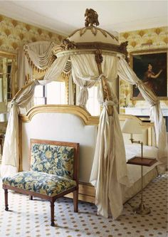 The Westmeath Room at Ballyfin Demesne, Ballyfin, County Laois,  mansion country house at the foot of the Slieve Bloom Mountains.