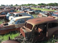 Passion Drives Classic Salvage Yards