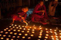 Candles, Bodhgaya