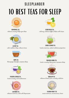 Best Tea For Sleep, Sleep Tea, Herbal Tea Benefits, Herbal Teas, Herbal Magic, Tea Blends, Healing Herbs, Tea Recipes, Kraut
