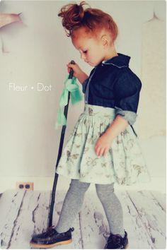 blissfulb - BLISS - wee wednesday: fleur +dot