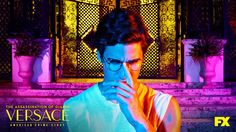New textless image of Darren Criss as Andrew Cunanan in The Assassination of Gianni Versace: American Crime Story Tv Series To Watch, New Tv Series, American Crime Story, American Horror Story, Darren Criss, Gianni Versace, Catherine O'hara, Jane The Virgin, Orange Is The New