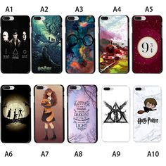 7.19AUD - Harry Potter Snape And Voldemort Soft Tpu Case Cover For Iphone 6S 7 8 Plus X #ebay #Electronics