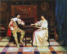 """""""Sakkia"""" (1878) by Gunnar Fredrik Berndtson (1854-1895)."""