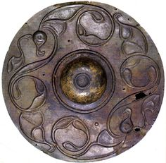 The Wandsworth Shield | A Celtic copper shield found in the River Thames, London sometime before 1849. It was likely created around the 2nd Century BCE.