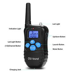 OU-BAND Waterproof Rechargeable Remote Dog Training Shock Collar with Safe Beep, Vibration and Shock Electronic Electric Collar with Upgraded-blue Backlight Screen   Check it out-->  http://mypets.us/product/ou-band-waterproof-rechargeable-remote-dog-training-shock-collar-with-safe-beep-vibration-and-shock-electronic-electric-collar-with-upgraded-blue-backlight-screen/  #pet #food #bed #supplies