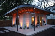 SXSW Tiny House Fast Cheap 3D Printing Video | Apartment Therapy