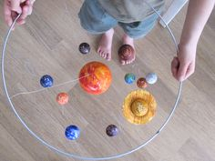 Make and Do: A model of the Solar System