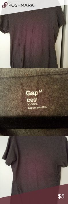 gap used gap vneck shirt 100% cotton very comfortable. GAP Shirts Tees - Short Sleeve