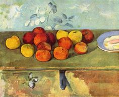 "Paul Cezanne's ""Apples and Biscuits"""