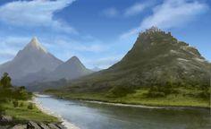 Fantasy landscape #5 by jjpeabody on DeviantArt