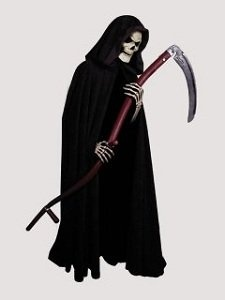 Grim Reaper w/ Scythe Deluxe Adult Costume and Mask – 56in. Long Cloak Reviews