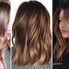 Here are some of the best hair color ideas for brunettes including brown hair shades, brunettes with highlights and seasonal trends. Hair Colour For Green Eyes, Fall Hair Colors, Cool Hair Color, Brunette Highlights, Brunette Hair, New Hair Color Trends, Mushroom Hair, Brown Hair Shades, Balayage Hair