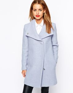 I need a new coat for this year- loving this New Look Funnel Coat over on ASOS