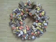Curly Paper Wreaths - Perfect for Any Occasion!