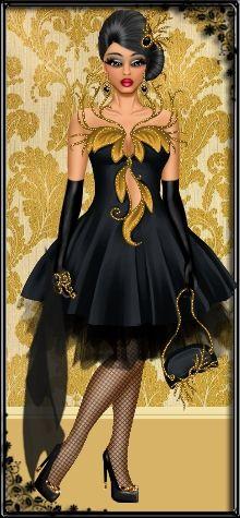 Fashion girl la dress up games