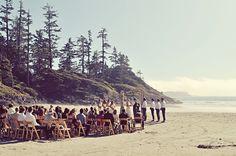 British Columbia beach wedding