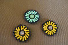 "Цветок из бисера ""Нинель"". Мастер класс / Flowers from beads. Beading"