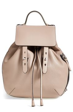 Mackage 'Bane' Convertible Leather Backpack available at #Nordstrom